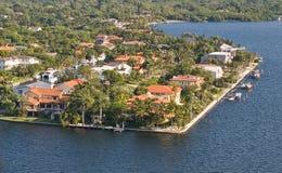 Línea de costa de la Florida Fotografía de archivo libre de regalías