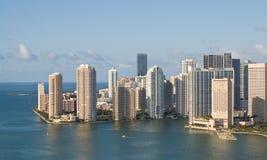 Línea de costa de Miami Foto de archivo
