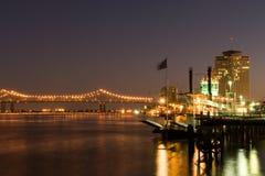 Línea de costa de New Orleans Fotografía de archivo libre de regalías