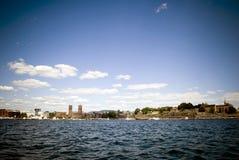 Línea de costa de Oslo Imágenes de archivo libres de regalías