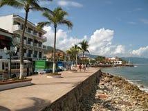 Línea de costa de Puerto Vallarta imagen de archivo libre de regalías