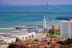 Línea de costa de San Francisco Fotografía de archivo