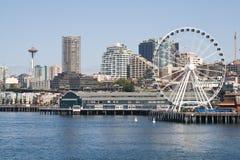 Línea de costa de Seattle Fotos de archivo libres de regalías
