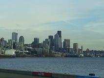 Línea de costa de Seattle Fotografía de archivo libre de regalías