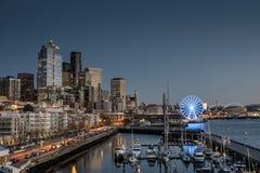 Línea de costa de Seattle Foto de archivo