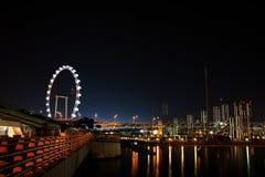 Línea de costa de Singapur fotos de archivo libres de regalías