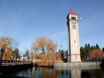 Línea de costa de Spokane fotos de archivo