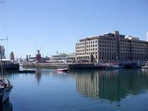 Línea de costa de V&A, Ciudad del Cabo Imagen de archivo libre de regalías
