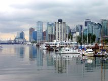Línea de costa de Vancouver Imagen de archivo