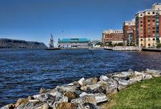 Línea de costa de Yonkers Imágenes de archivo libres de regalías