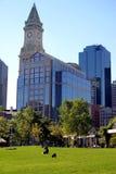 Línea de costa del final del norte de Boston Imagen de archivo libre de regalías