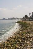 Línea de costa en Puerto Vallarta Foto de archivo libre de regalías