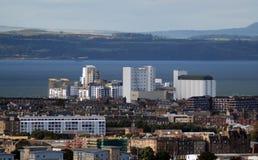 Línea de costa Escocia de Edimburgo Foto de archivo libre de regalías