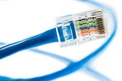 Línea de Ethernet Imagen de archivo