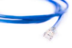 Línea de Ethernet imágenes de archivo libres de regalías