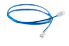 Línea de Ethernet foto de archivo