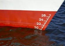Línea de flotación Fotos de archivo libres de regalías