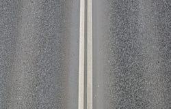 Línea de la carretera Fotos de archivo libres de regalías
