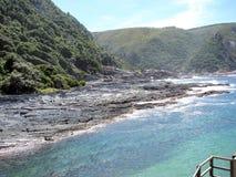 Línea de la costa Foto de archivo libre de regalías