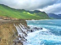 Línea de la costa Fotos de archivo