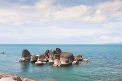 Línea de la costa Foto de archivo
