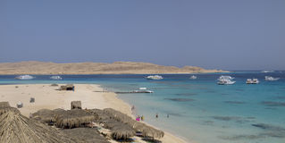 Panorama del Mar Rojo Foto de archivo libre de regalías