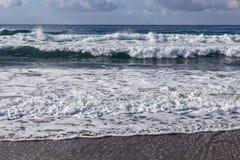 Línea de la costa en Paleochora crete imágenes de archivo libres de regalías