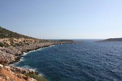 Línea de la costa pacífica Fotografía de archivo libre de regalías