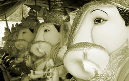 Línea de la fábrica de Ganesha Imagen de archivo libre de regalías