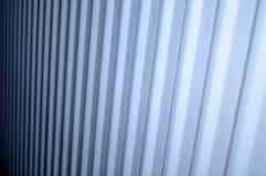 Línea de la foto del arte de radiador blanco Fotografía de archivo libre de regalías