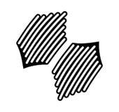 Línea de la insignia del emblema Imágenes de archivo libres de regalías