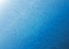 Línea de la intersección en azul Fotografía de archivo libre de regalías