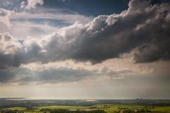 Línea de la nube Fotos de archivo