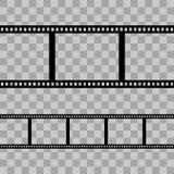 Línea de la película Foto de archivo libre de regalías