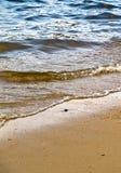 Línea de la playa Foto de archivo libre de regalías