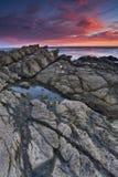 Línea de la playa Imagen de archivo libre de regalías