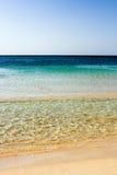 Línea de la playa fotografía de archivo