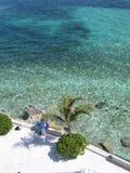 Línea de la playa de Bahamas fotografía de archivo libre de regalías