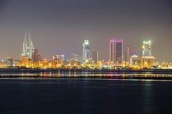 Línea de la playa de Bahrein foto de archivo libre de regalías