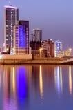Línea de la playa de Bahrein imagen de archivo
