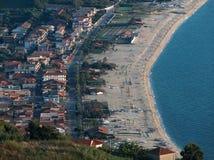 Línea de la playa de la ciudad Imagen de archivo