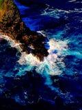 Línea de la playa de Maui Fotos de archivo libres de regalías