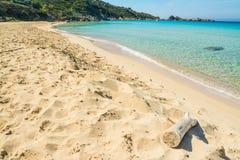 Línea de la playa de Rena Bianca en un día claro Fotografía de archivo libre de regalías