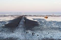 Línea de la playa de Southend Imagen de archivo