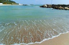 Línea de la playa del Mar Negro Fotografía de archivo libre de regalías