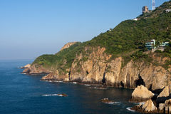 Línea de la playa del océano Imagen de archivo libre de regalías