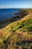 Línea de la playa escénica fotos de archivo