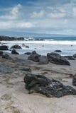 Línea de la playa escénica de Maui Fotografía de archivo