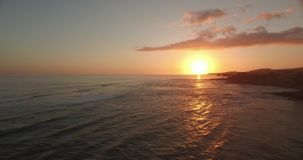 Línea de la playa de la playa de Hawaii almacen de video