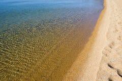Línea de la playa Lake Tahoe Imagen de archivo libre de regalías